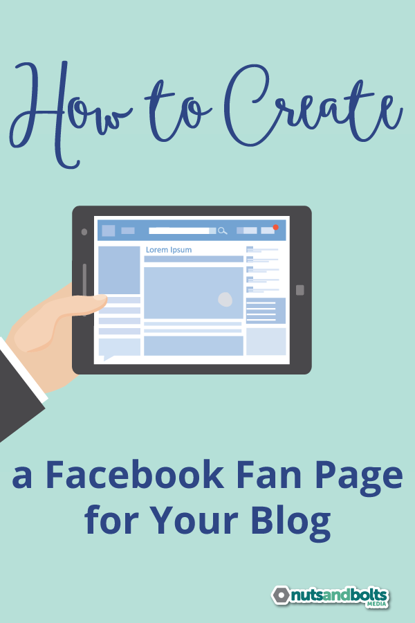 How to Create a Facebook Fan Page for Your Blog via @awhitmer83