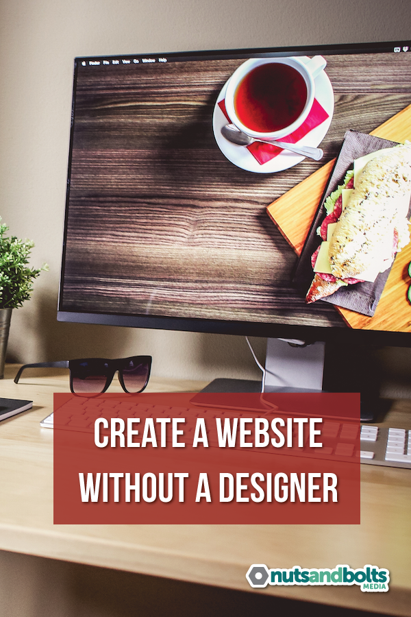 Can't afford a designer? Here are some tips to help you create a great website anyway! via @awhitmer83