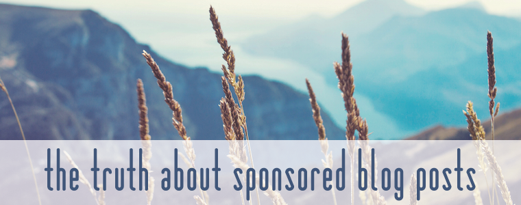 The Truth About Sponsored Blog Posts