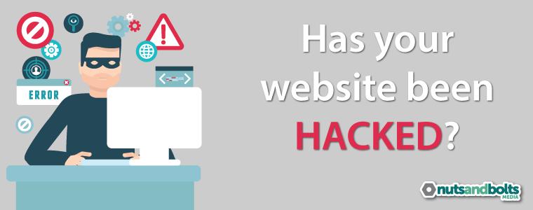 hacked website image
