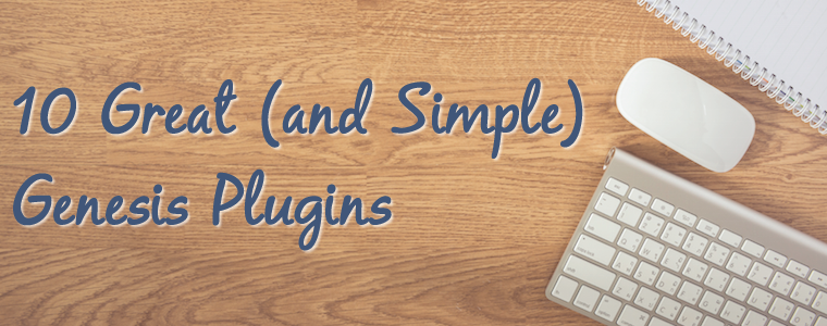 10 Great (and Simple) Genesis Plugins
