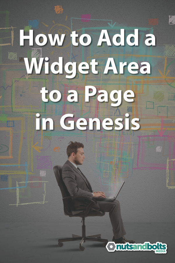 A step by step guide to adding a widget area to a page on WordPress sites using the Genesis Framework. via @nabmco