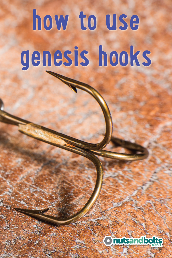 A simple explanation of Genesis hooks and how they can be used. via @nabmco