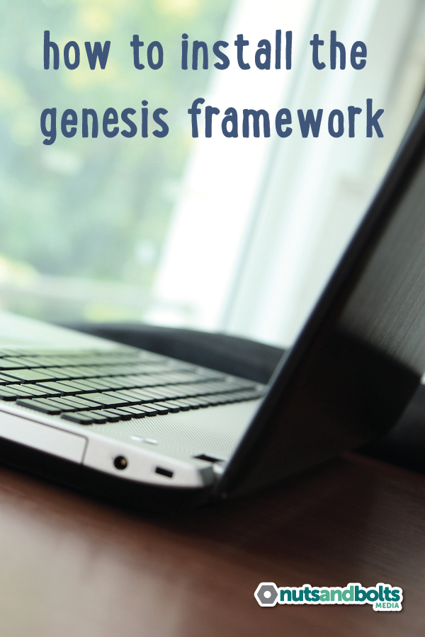 A tutorial video plus text instructions for installing the Genesis framework on your WordPress website or blog. via @awhitmer83
