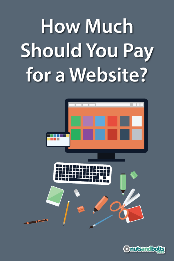 An honest look at how much a professionally designed and developed website or blog should cost. via @nabmco