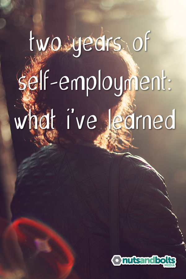 Lessons learned after two years of self-employment.