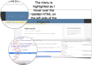 hover over html