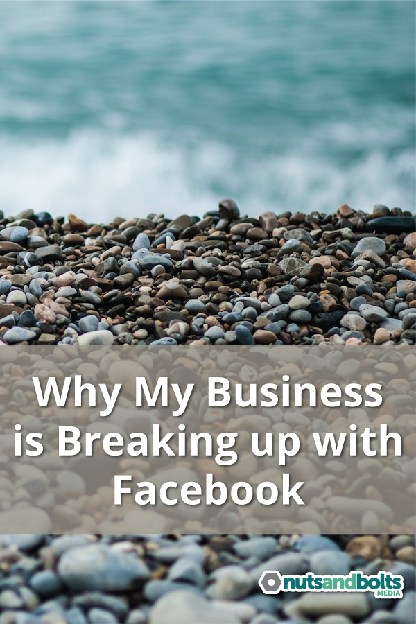 Facebook has made it impossible for many businesses to succeed. Here's why I decided I'm over it. via @nabmco
