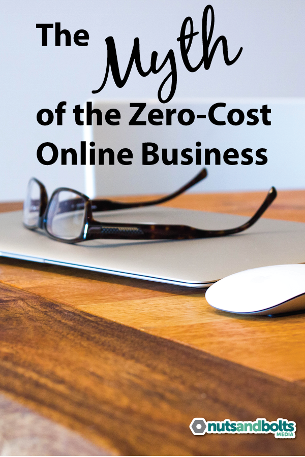 Think you can start an online business with no startup costs? This article examines the zero-cost business myth and why it's unrealistic.