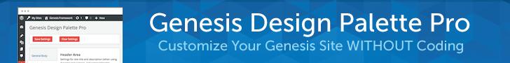 Genesis Design Palette Pro
