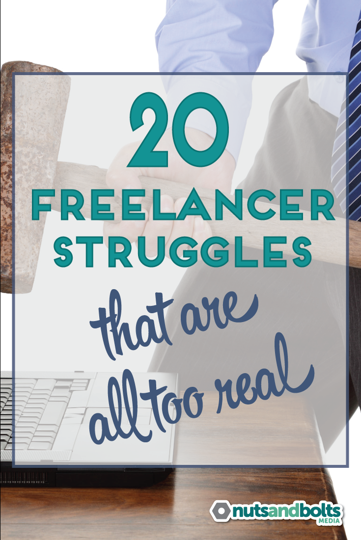 Designers, developers, bloggers, and writers will identify with this hilarious list of freelancer struggles. via @nabmco